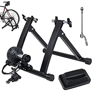 Akonza Magnet Steel Bike Bicycle Indoor Exercise Trainer Stand Black/Blue