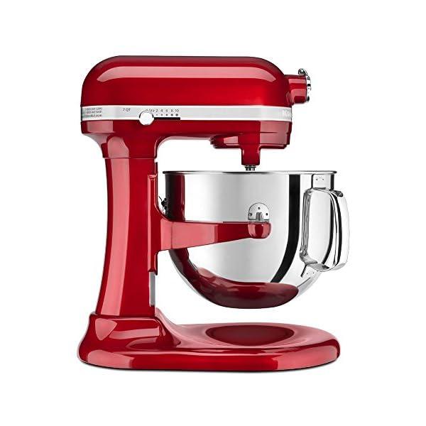 KitchenAid KSM7586PCA 7-Quart Pro Line Stand Mixer Candy Apple Red 2