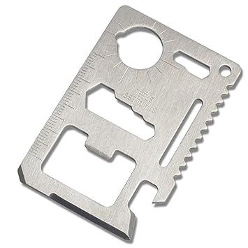 Compra Xiton Pocket Survival Tool Tarjeta del Sable de usos ...