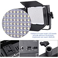 Andoer 1040pcs LED Beads Video Studio Photography Light Lamp CRI 95+ 7680LM 5600K Adjustable Brightness for Canon Nikon Sony Camera Camcorder