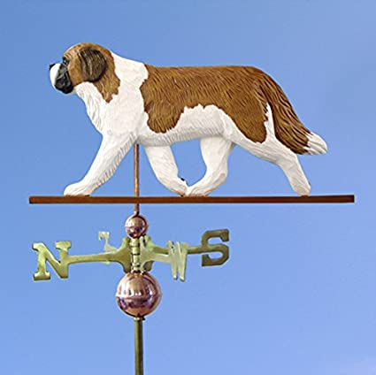 Hand Made Saint Bernard Dog Weathervane *NEW*