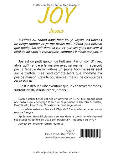 Joy French Edition Sophie Dekar Casas 9782310029520