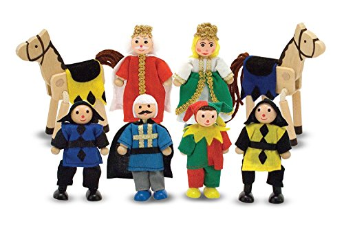 Melissa and Doug Kids Toys, Castle Wooden Figure Set