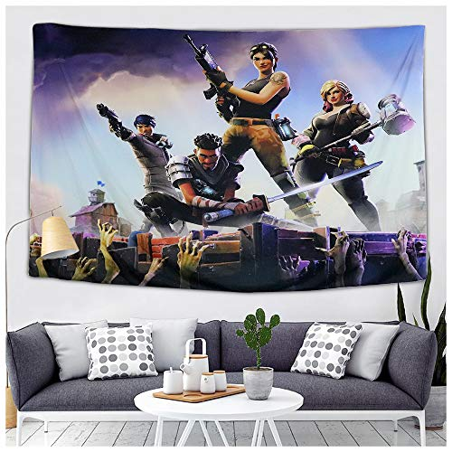 Battle Royale Party Supplies - Wall Tapestry Video Game Theme Party Decorations - Photography Backdrop Table Cloth Bed Cover Beach Mat Picnic Blanket - Home Bedroom Living Room Dorm Wall Hanging Décor]()