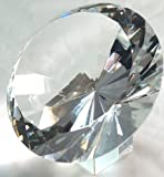 "120mm 5"" Original Crystal Diamond Jewel Paperweight"
