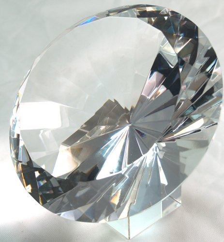 120mm Original Crystal Diamond Paperweight