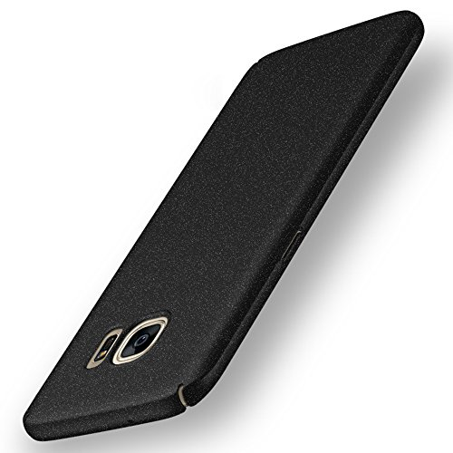 Anccer Compatible for Samsung Galaxy S7 Case [Ultra-Thin] [Anti-Stain] [Anti-Drop] Premium Material Slim Full Protection Cover (Not fit for Samsung S7 Edge) (Gravel Black)