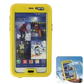 Donkeyphone Carcasa ACUATICA Amarilla para Samsung Galaxy Note 2 ...