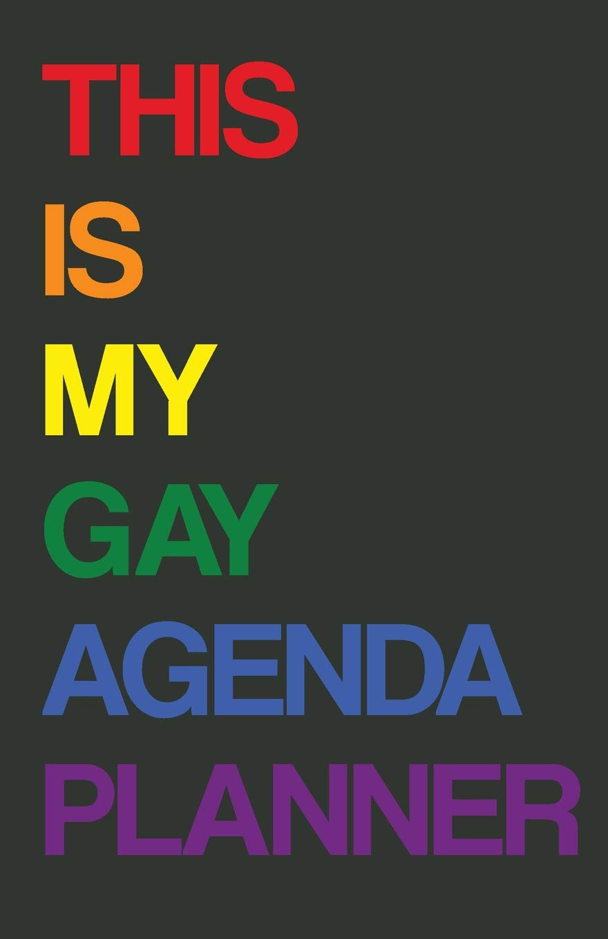 Gay Agenda Planner: 2019 Weekly Diary: Amazon.es: Cutiepie ...