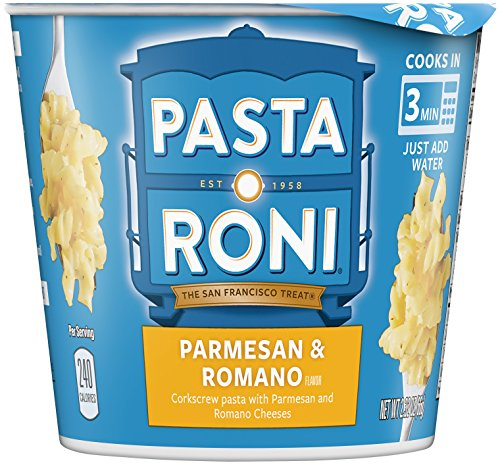 (Pasta Roni Cups, Parmesan & Romano Cheese Pasta Mix, 2.32 oz (Pack of 12)