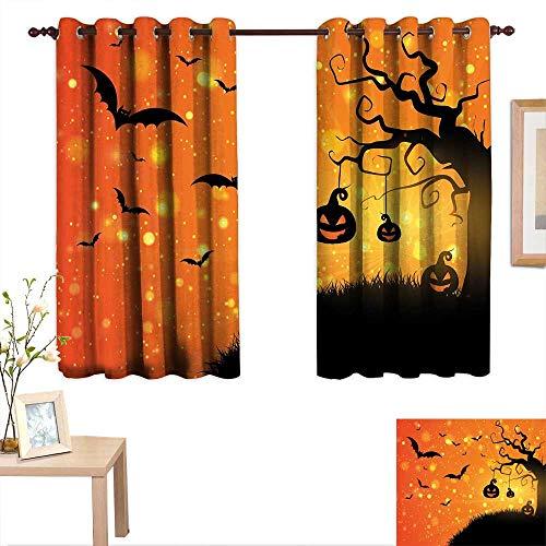 Amazon.com: Luckyee Halloween Decorative Curtains For