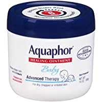 Aquaphor Baby Advanced Therapy Healing Ointment Skin Protectant Jar