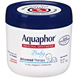 Aquaphor Baby Healing Ointment Advanced Therapy Skin Protectant, 14 Ounce Image