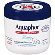 Aquaphor Baby Healing Ointment Advanced Therapy Skin Protectant, 14 Ounce