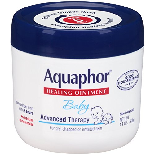 Large Product Image of Aquaphor Baby Healing Ointment Advanced Therapy Skin Protectant, 14 Ounce