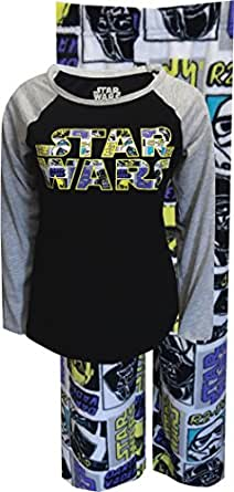 Classic Star Wars Soft Fleece Pajama for women (X-Small)