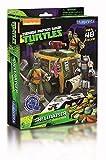 ninja turtle arts and crafts - Zoofy International Teenage Mutant Ninja Turtles Paper Craft Shellraiser Vehicle Pack