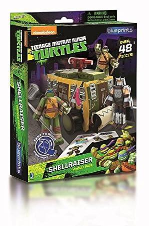 Teenage Mutant Ninja Turtles - Juego de moldes para ...