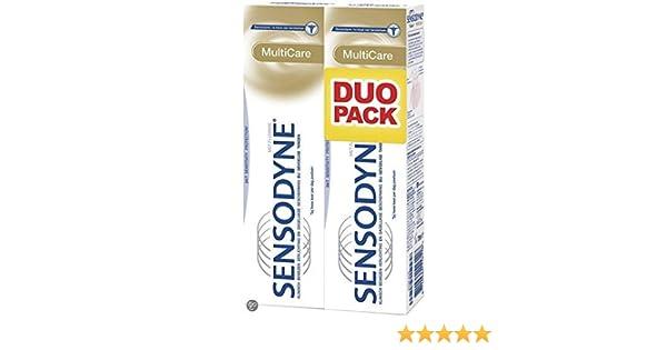 Amazon.com: Sensodyne Multi Care Toothpaste 75 ml (2-Pack): Beauty