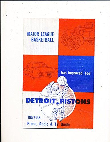 1957-Detroit-Pistons-NBA-Press-Media-Guide