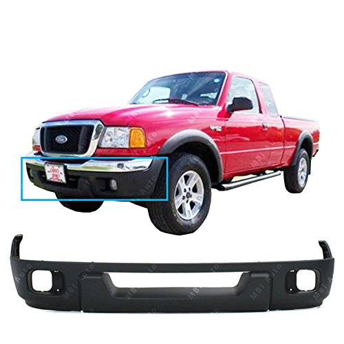 MBI AUTO Textured, Black Lower Front Bumper Fascia Valance for 2004 2005 Ford Ranger XL XLT 04 05, FO1095217 (Ford Ranger Lower Valance)
