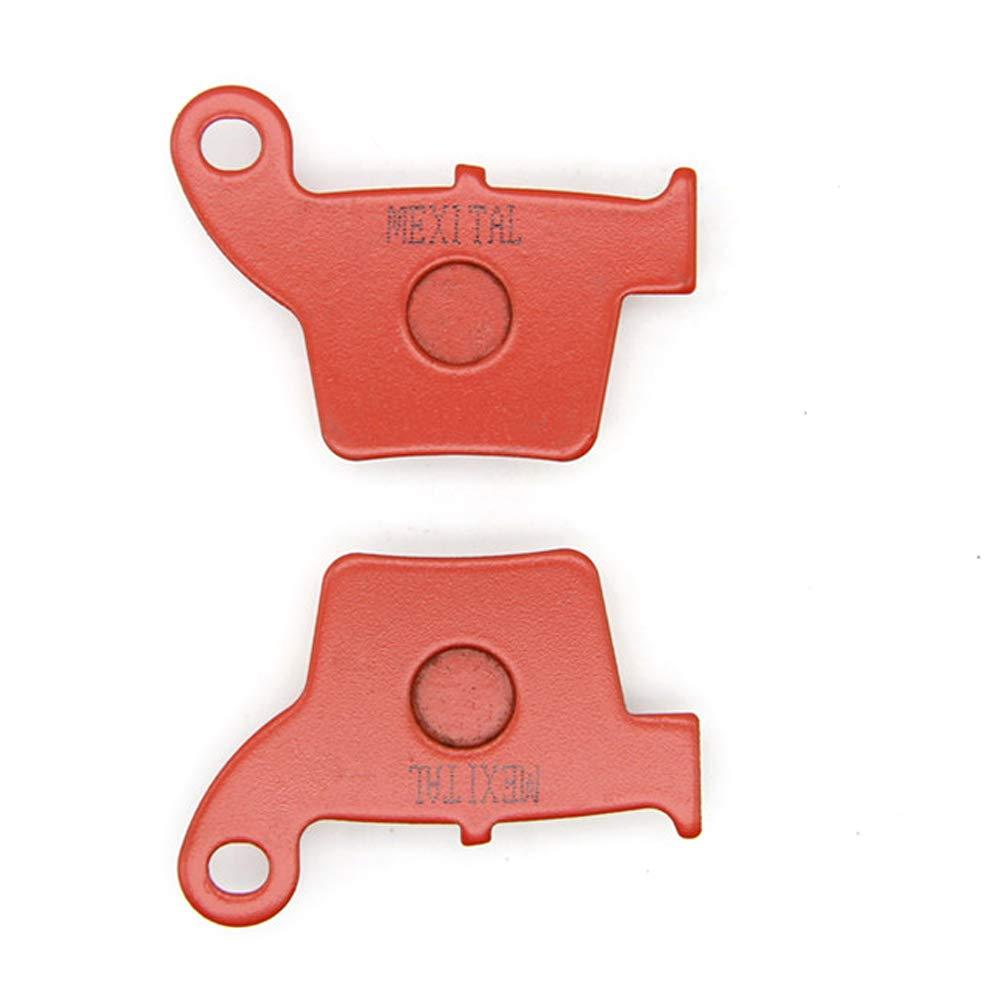 04-17 MEXITAL Pastiglie freno Ceramica organico Anteriori Posteriore per CR 125 R ///CR 250 R/ 02-17 // CRF 250 R//X/ 02-07 // CRF 450 R//X/