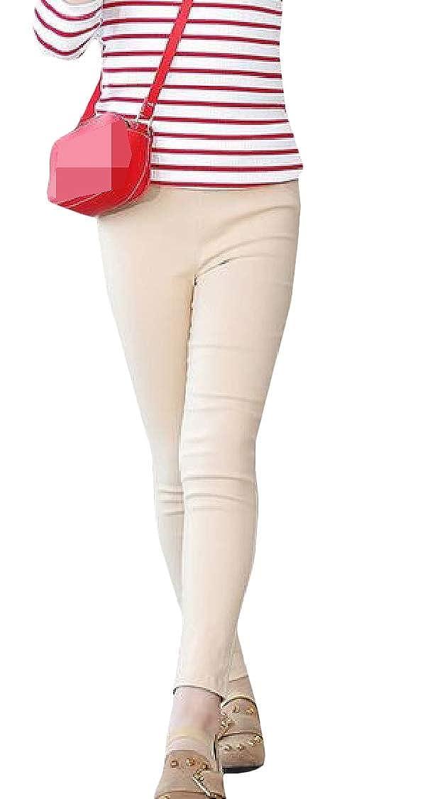Lutratocro Girl Solid Pants Slim Stretch Fashion Legging