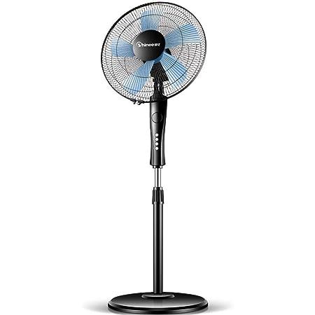 Air-conditioning fan-Jack Ventilador de Suelo teledirigido Ultra silencioso del Viento Grande, Viento de Tres velocidades, Conveniente para el Centro Comercial de la fábrica de la Oficina en el hogar: Amazon.es: Hogar