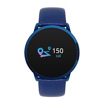 KLAYL Reloj Inteligente Q8 Pantalla táctil Smartwatch Hombres ...