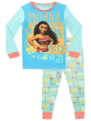 Disney Pijama para niñas Moana Ajuste Ceñido: Amazon.es: Ropa y accesorios