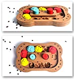Windspeed Paw Hide Treat Toy Interactive Dog Toy Puzzle for small or midium dogs and cats. (Multicolor 2)
