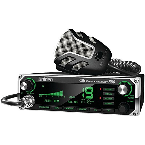 Uniden Bearcat 880 40-Channel CB Radio w/ 7-Color Digital Display