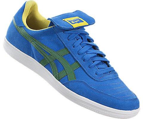 wholesale dealer e7993 04927 Onitsuka Tiger Hulse Fashion Sneaker,Mid Blue/Green,9 M US