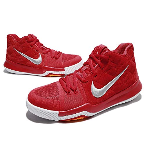 watch 71ed9 a2eed NIKE Boys Kyrie 3 Colorblock Mids Basketball Shoes