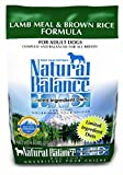 Natural Balance L.I.D. Limited Ingredient Diets Dry Dog Food, Lamb Meal & Brown Rice Formula, 4.5-Pound