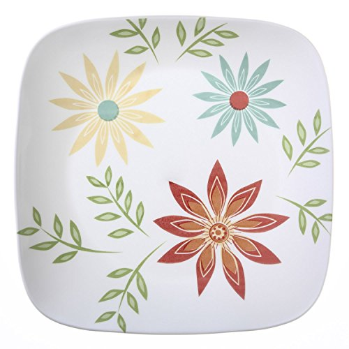 "Corelle Square Happy Days 10.25"" Dinner Plate (Set of 4)"