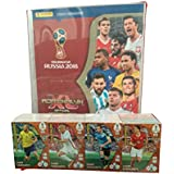 Panini Adrenalyn Russia 2018 Trading Card Set + Free Collectible Binder