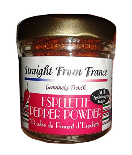 Fried Beef Country - Straight From France - Espelette Pepper powder from France (0.53oz)