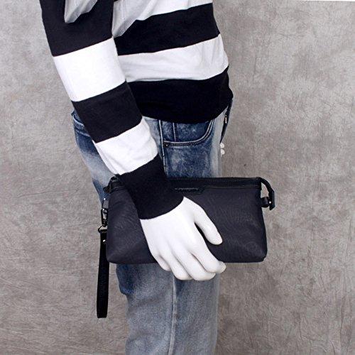 Men Onesize Briefcase Business Handbag Qidi Black size Fashion Polyester RnB5qxT