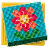 Alex Craft Simply Needlepoint Butterfly Kids Art and Craft Activity