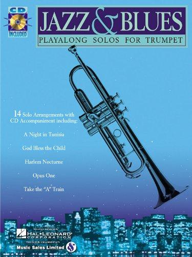Jazz & Blues - Trumpet Play-Along Solos - BK+CD