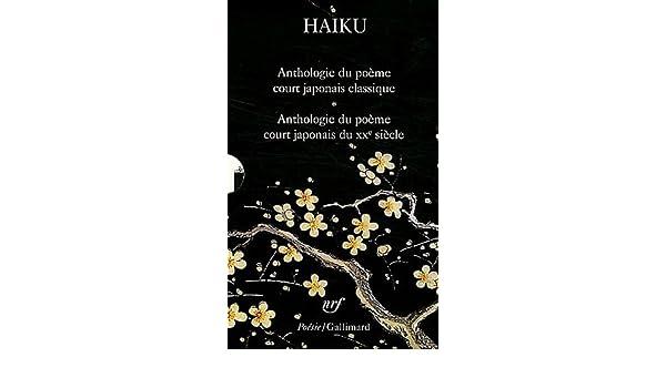 Coffret Haiku Haiku Du Xxe Siècle Haiku Anthologie Du