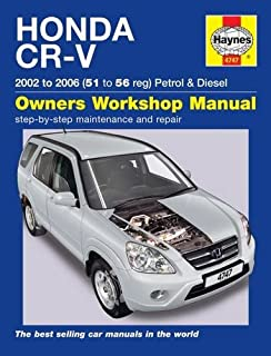 Honda civic and crv 2001 04 haynes repair manuals chilton honda cr v owners workshop manual fandeluxe Gallery