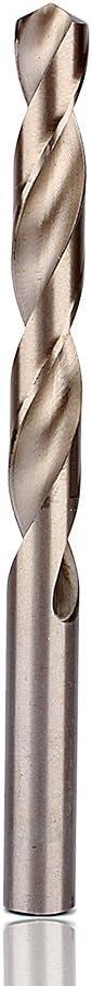Yuehuam 25pcs 1mm-13mm HSS Twist Steel Drill Bit Set with Carry Case