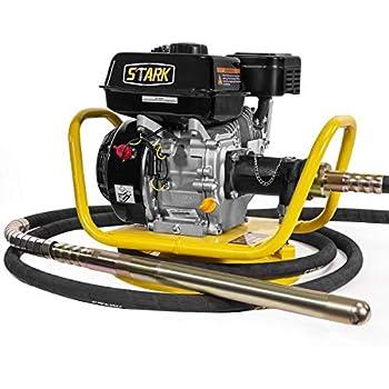 6.5HP 196cc Gas Power Concrete Vibrator w//Dia 38mm x 6M Flexible Vibrate Poker