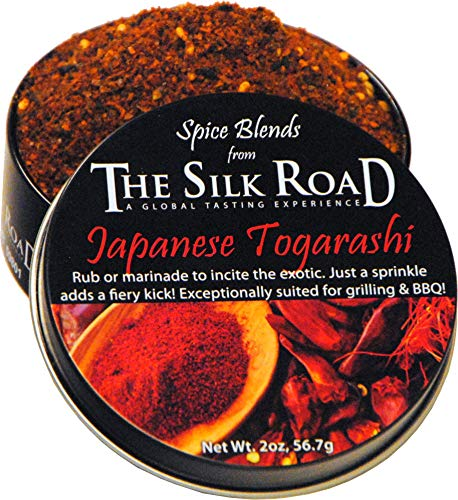 (Japanese Togarashi Spice Blend from The Silk Road Restaurant & Market, No Salt)