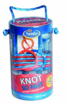 Think Fun Knot So Fast Innovative Knot Tying Game With 40 Challenges 1