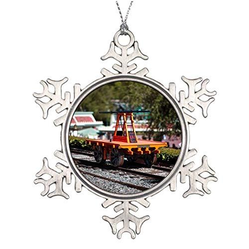 DiuangFoong Kalamazoo Printed Metal Ornaments Custom Snowflake Shaped Ornaments (Kalamazoo Furniture)