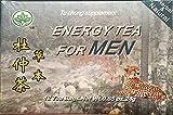 Tu Chung Tea Energy For Men 100% Natural Tea from China 24 Tea Bags - 2 Box Bundle