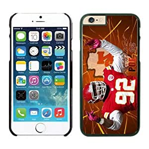 NFL iPhone 6 Plus 5.5 Inches Case Kansas City Chiefs Dontari Poe Black iPhone 6 Plus Cell Phone Case ONXTWKHB2178